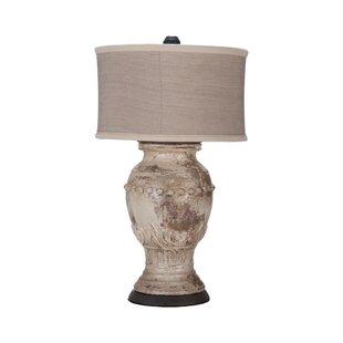 Terracotta lamp wayfair margaux 31 table lamp aloadofball Image collections