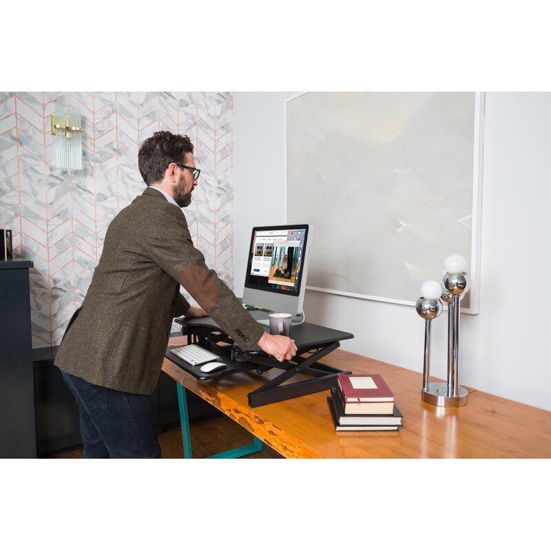 UPPEL Portable Standing Desk Computer Workstations Height