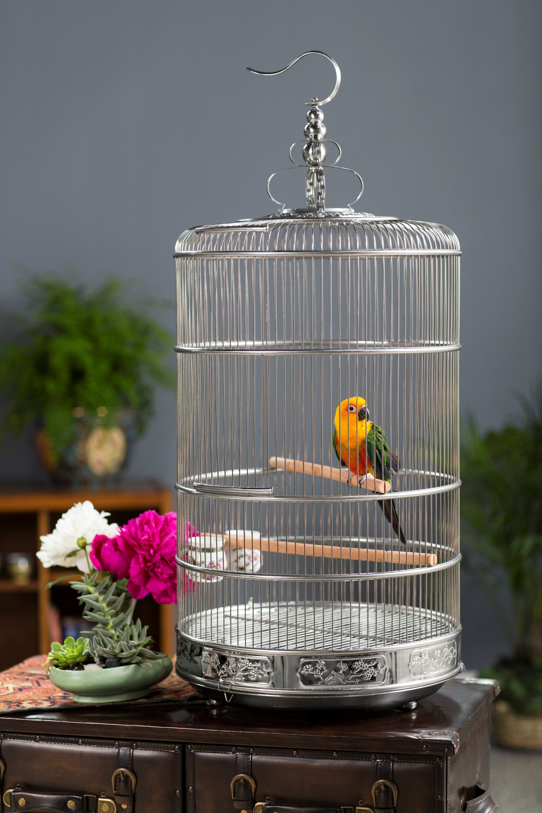 Prevue Hendryx Pet Dynasty Bird Cage With Removable Tray