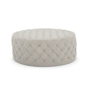 Darcella Round Ottoman by Willa Arlo Interiors