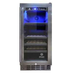 33 Bottle Single Zone Built-In Wine Cooler by Vinotemp