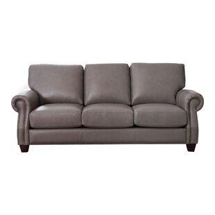 Most Comfortable Leather Sofa Wayfair