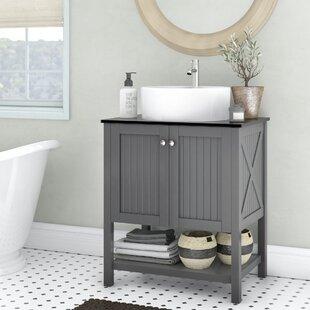 Single Vanity With Vessel Sink Wayfair
