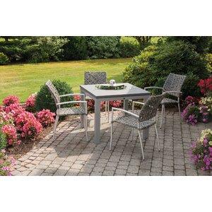 4-Sitzer Gartengarnitur Sina von Inko