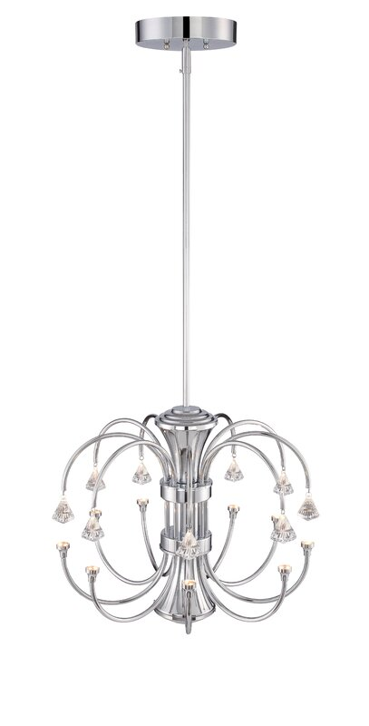 Designers fountain galaxy 9 light crystal chandelier reviews wayfair galaxy 9 light crystal chandelier aloadofball Choice Image