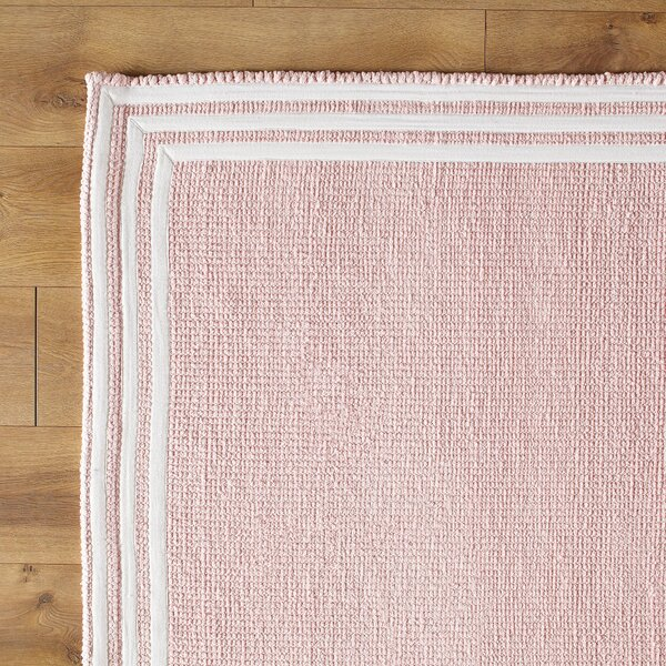 three strikes pink rug & reviews   birch lane