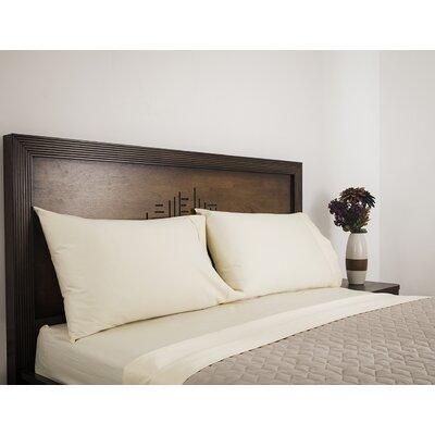 600 Thread Count 100% Cotton Sheet Set Ardor Home Color: Ivory, Size: Queen