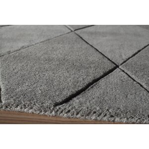 Bristol Hand-Tufted Gray Area Rug