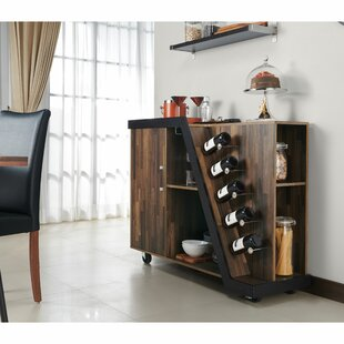 Simonds Mobile Bar with Wine Storage