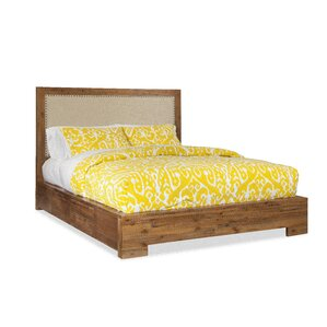 Ciera Upholstered Panel Bed by Union Rustic