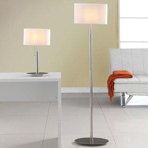 Modern contemporary table and floor lamp sets allmodern audrey european 2 piece table and floor lamp set aloadofball