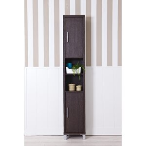 Galveston 34 X 194cm Free Standing Tall Bathroom Cabinet