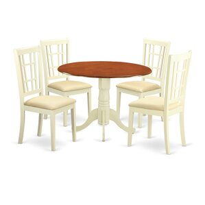 Gloucester5 Piece Dining Set by Charlton Home