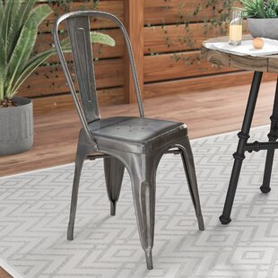 aluminum patio dining chairs wayfair