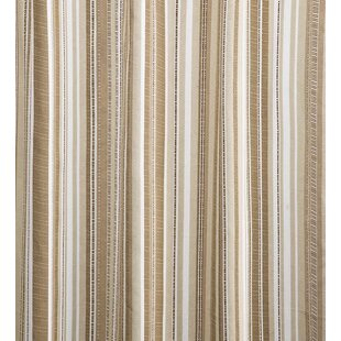 Ticking Stripe Thermal Single Curtain Panel
