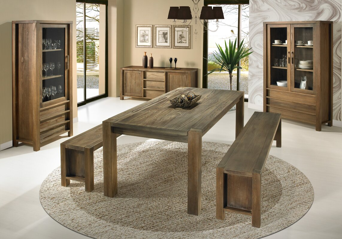 Wildon home linear dining table reviews for Wildon home dining