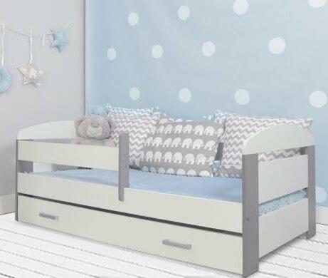 Kinderbett  Möbel Concept Kinderbett Alice mit Schublade und Matratze, 70 x ...