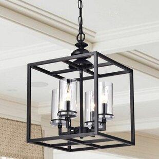 Foyer pendants joss main cheverton 4 light foyer pendant mozeypictures Images