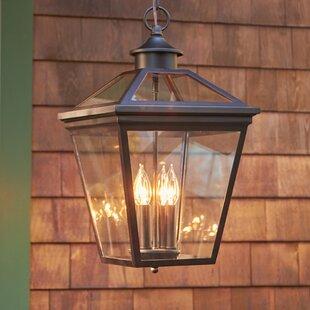 Outdoor hanging lights youll love wayfair coleg 4 light outdoor hanging lantern mozeypictures Gallery