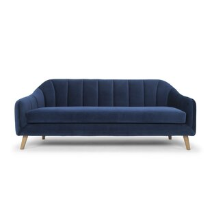 Modern & Contemporary Royal Blue Sofa | AllModern