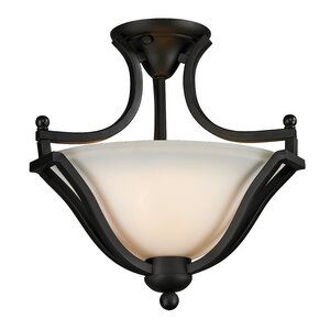 Lagoon 2-Light Semi-Flush Mount