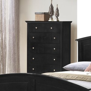 Taube 5 Drawer Chest by Andover Mills