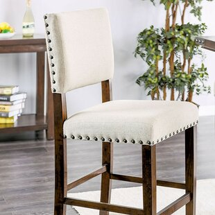 Ratley Counter Height Upholstered Dining Chair (Set of 2)