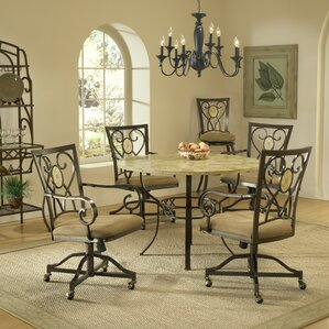 Boundary Bay 5 Piece Dining Set by Red Barrel St..