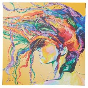 framed graphic art print on canvas u0027