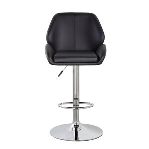 Lindbergh Classic Adjustable Height Swivel Bar Stool by Orren Ellis