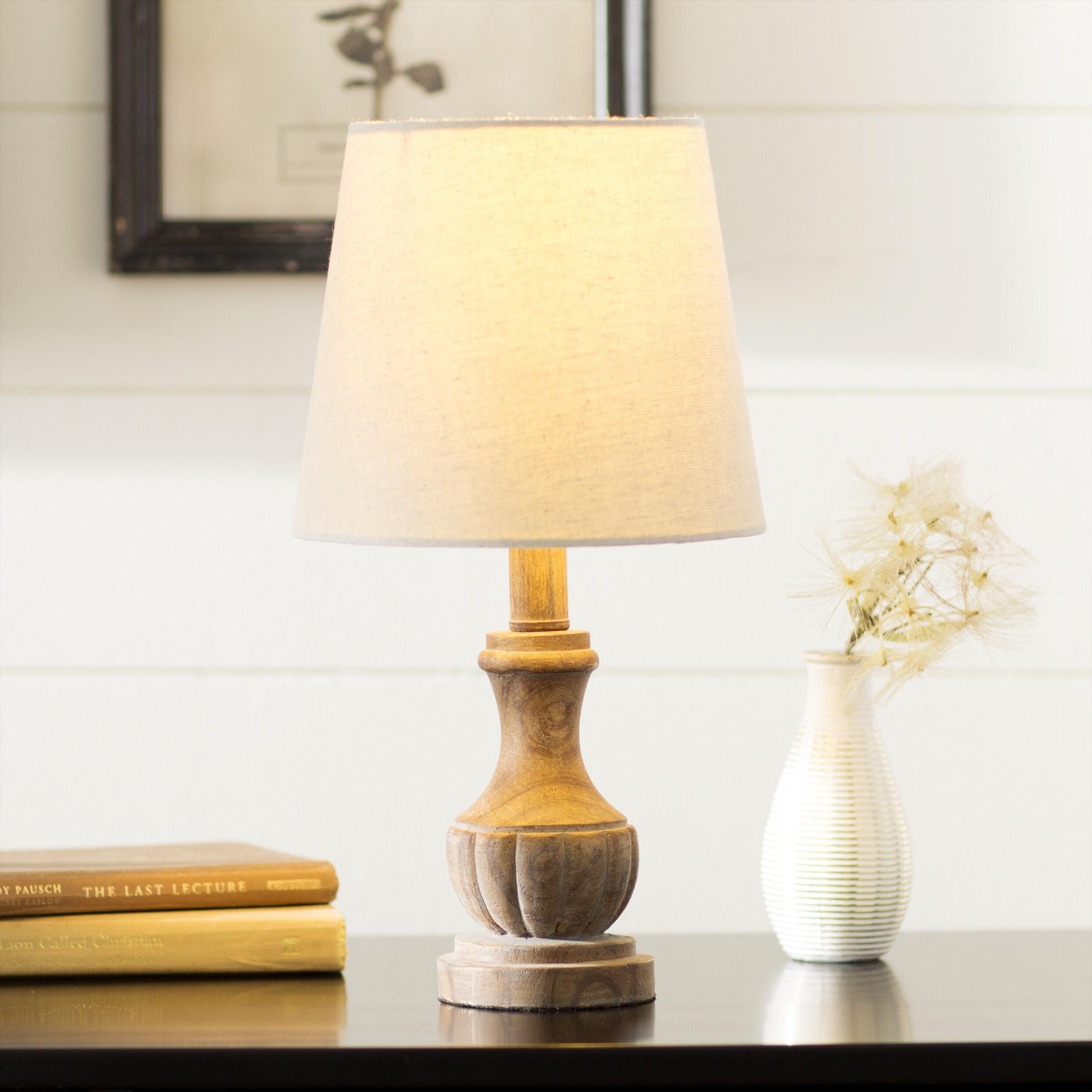 Laurel foundry modern farmhouse brentwood polyresin 15 table lamp reviews wayfair