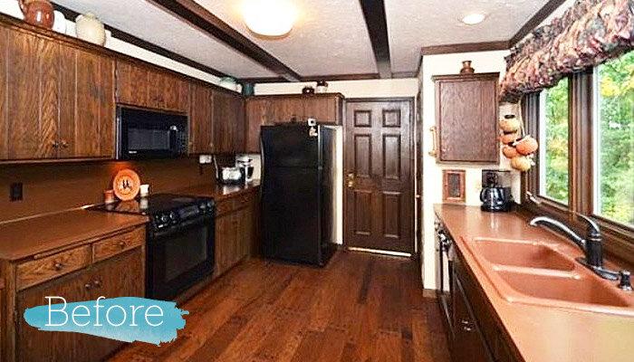 Before & After: DIY Kitchen Remodel | Wayfair