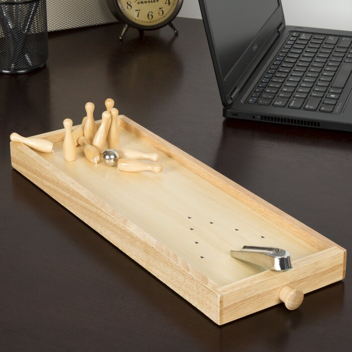 Charming 2 Piece Tabletop Bowling Game