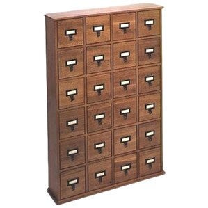 Shillington Multimedia Library Style Drawer by Three Posts
