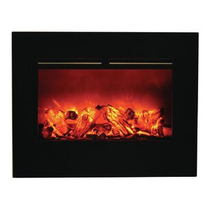 Zero Clearance Wall Mount Electric Fireplace by Amantii