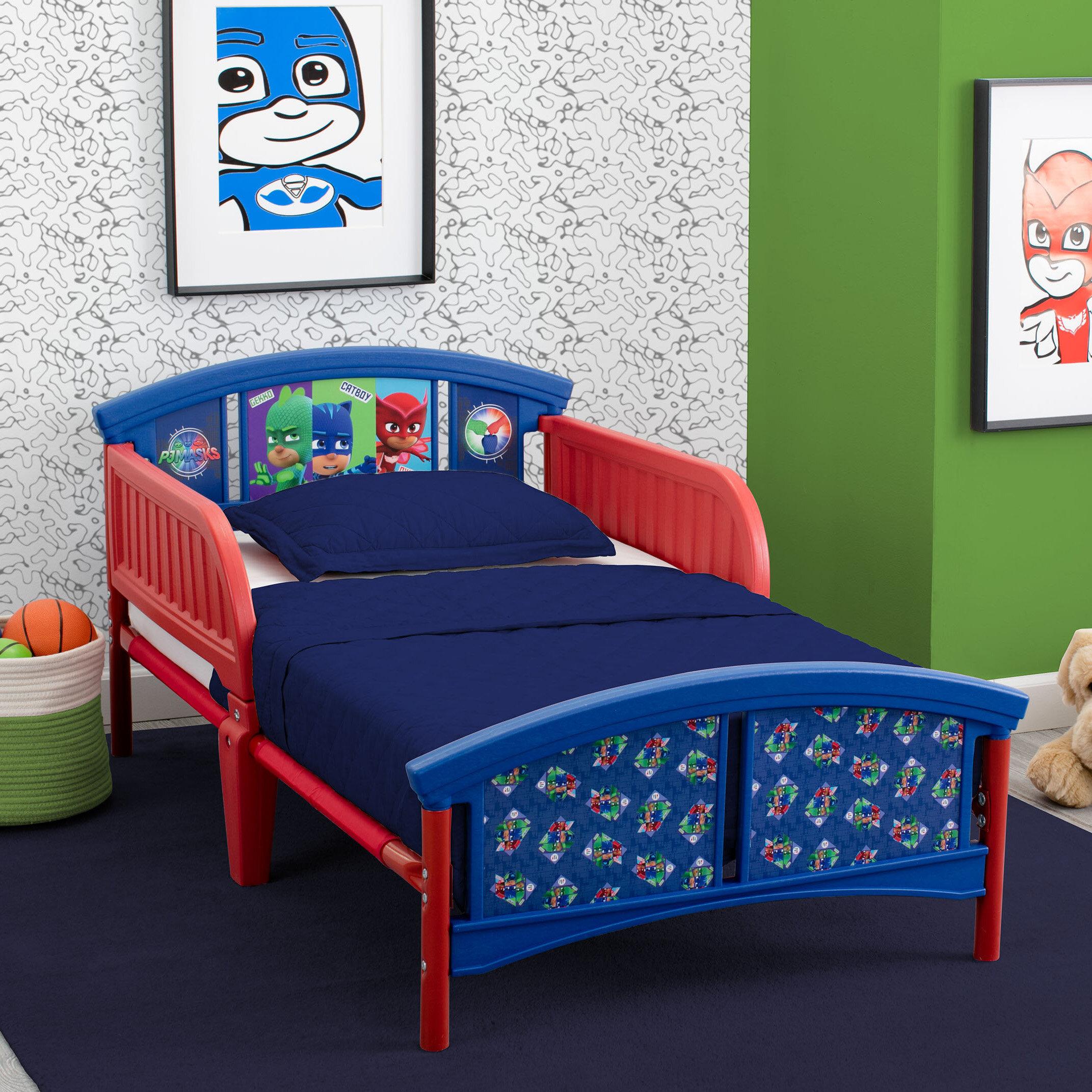 Delta Children PJ Masks Plastic Toddler Platform Bed