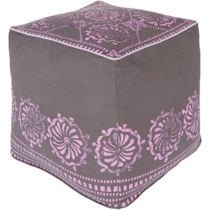 Wright Pouf Ottoman by Bungalow Rose
