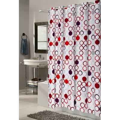 Zipcode Design Gianna Harlequin Shower Curtain Reviews Wayfair