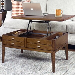 Weybossett Coffee Table with Lift Top by Alcott Hill