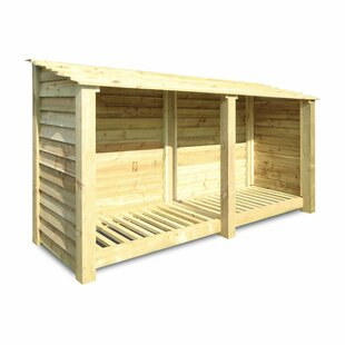 Normanton 7 Ft. W x 3 Ft. D Wood Log Store by dCor design