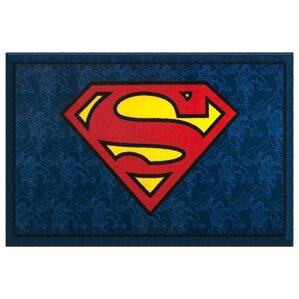 Superman Blue Area Rug