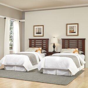 Rockvale Slat 3 Piece Bedroom Set