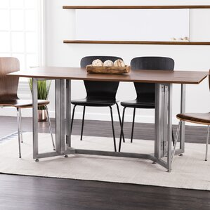Dining Room Tables With Leaves drop leaf kitchen & dining tables you'll love | wayfair