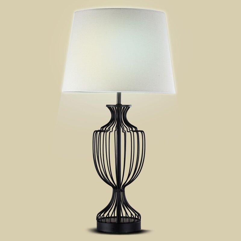 Lois Metal Cage 24 Table Lamp Reviews Birch Lane