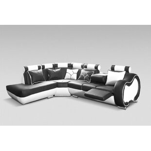 Leather Corner Recliner Sofa | Wayfair.co.uk