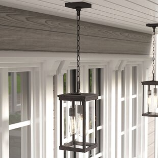outdoor hanging ceiling lights exterior mccombs 3light outdoor hanging lantern lights youll love wayfair