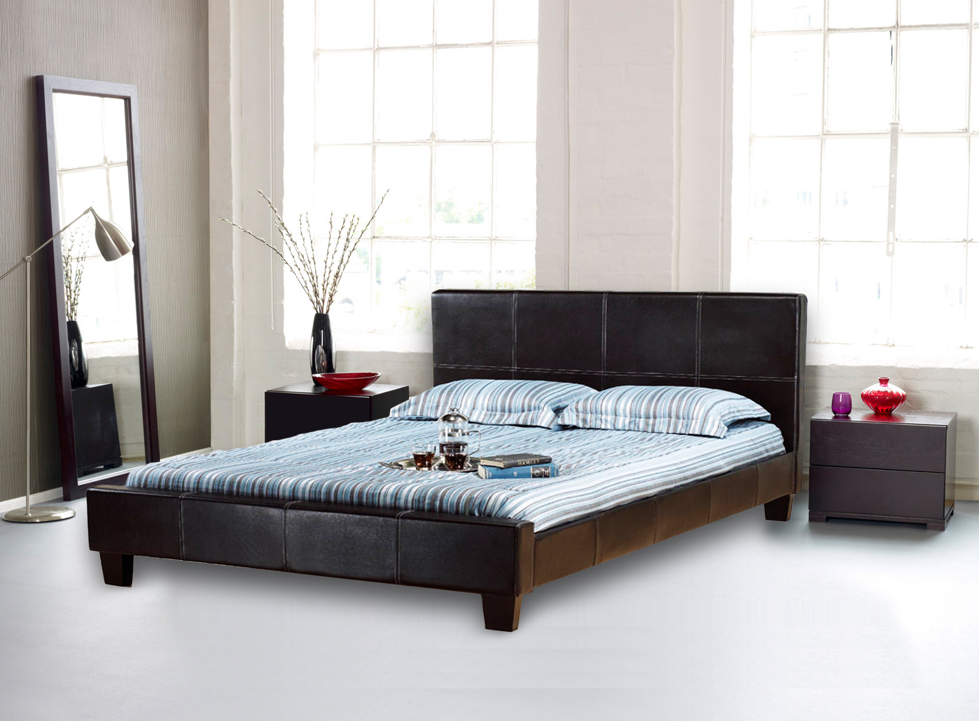 product bed thyme chocolate the dark store platform futon full