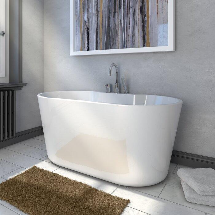 56 x 315 Freestanding Soaking Bathtub Au0026E