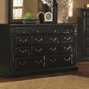 Torreon 11 Drawer Standard Dresser by Progressive Furniture Inc.