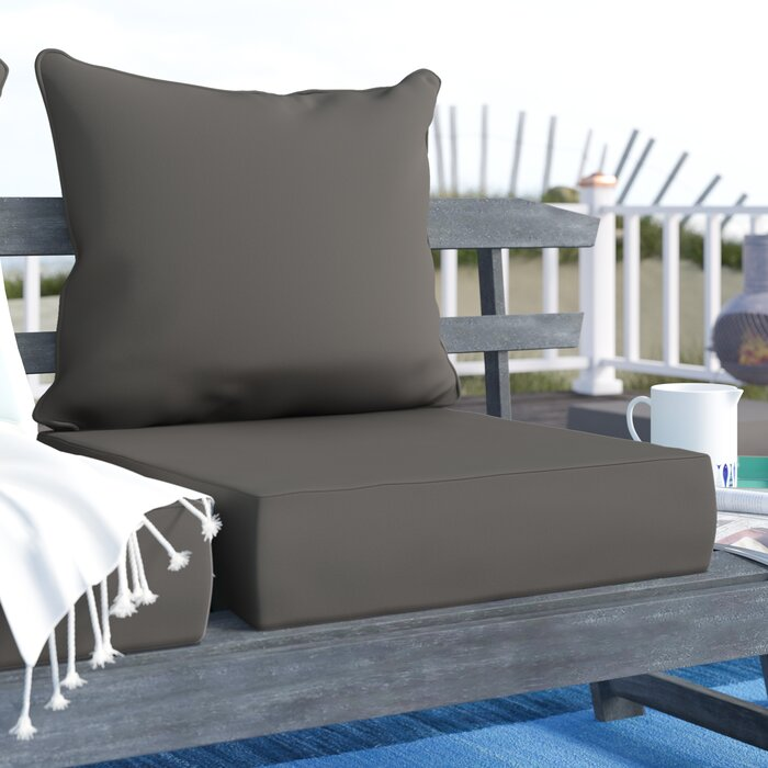 Adelia Texture Outdoor Lounge Chair Cushion